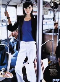 Caitriona Balfe for Elle US (April 2003) photo shoot by Ben Watts