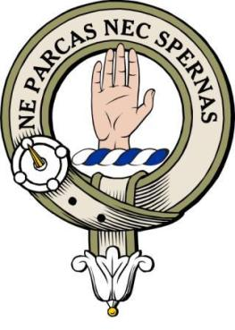 Lamont clan badge colour no LAMONT Web Page.jpg