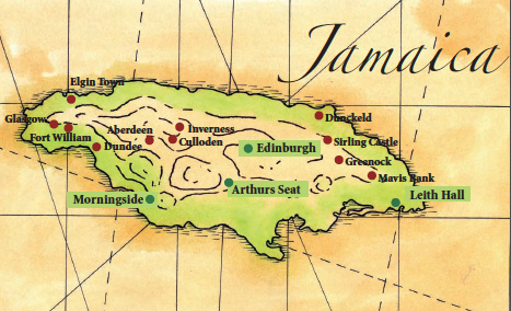 Scottish-place-names-in-Jamaica